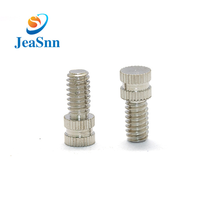 China Manufacturing Anodized Round Thumb Screws