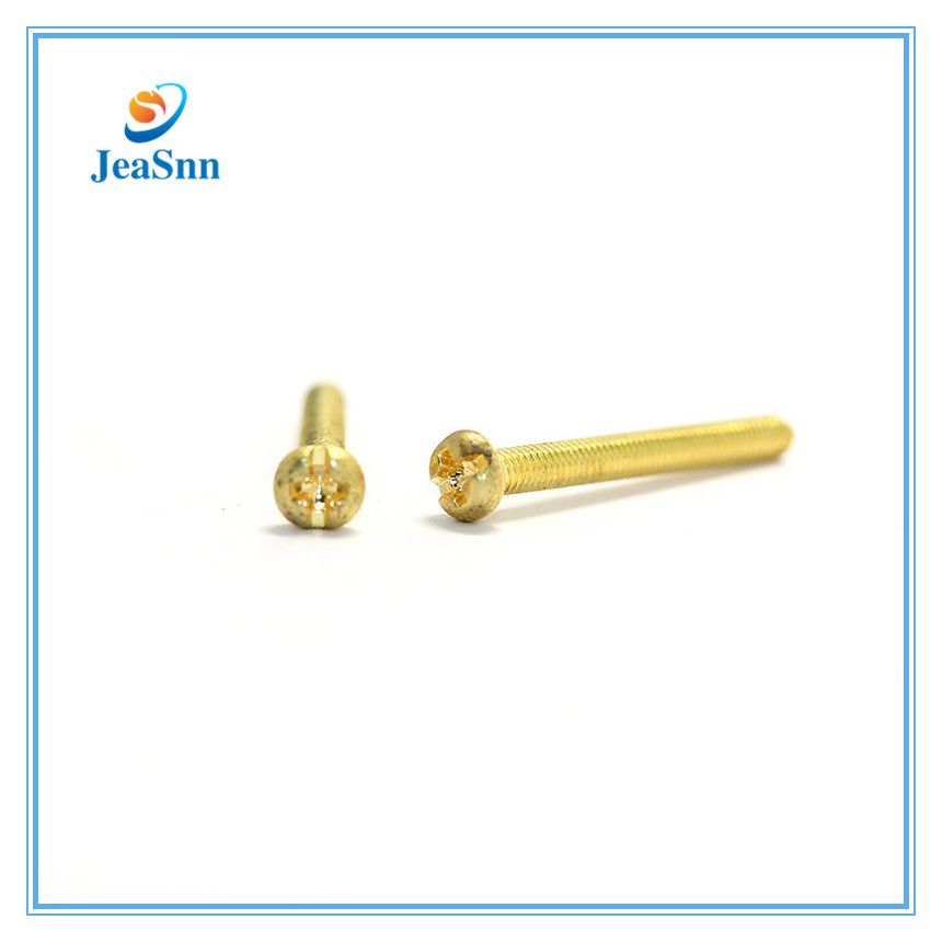 China Supplier custom made Screws Brass brass energy meter screw