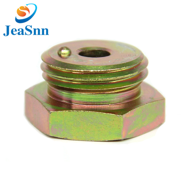 China Wholesale steel parts Hand Switch nut with Color Zinc Plated