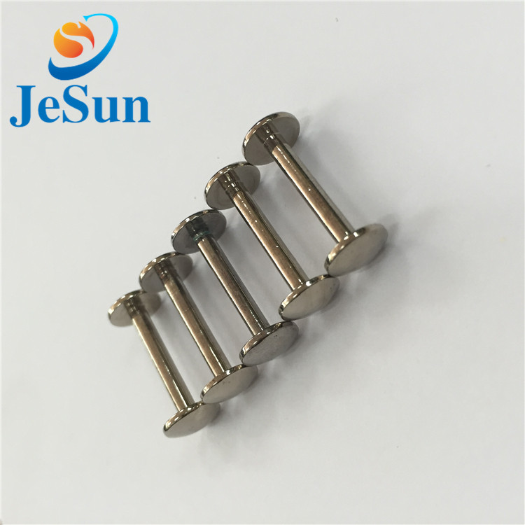 China supplier 304 stainless steel chicago screw in Swiss