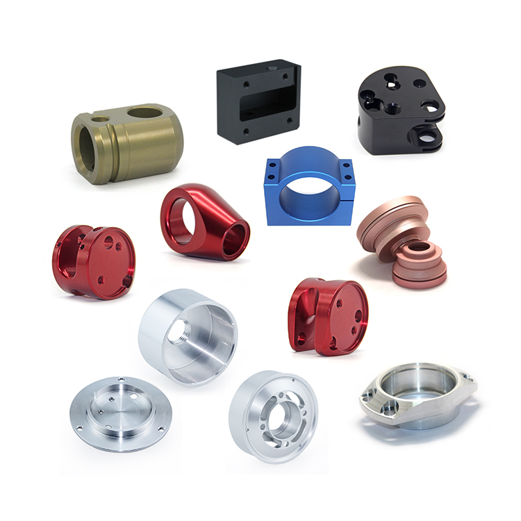 CNC machined precision milling turning machining aluminum components in USA