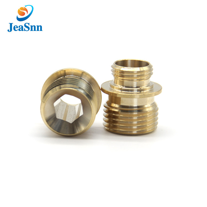 Cnc Machinery Small Hardware Brass Knurled Parts