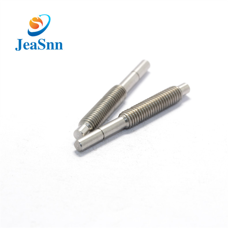 CNC Turned Stainless Steel Thread Shafts