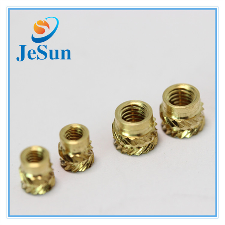 Cnc Turning Brass Threaded Insert Nut in Venezuela