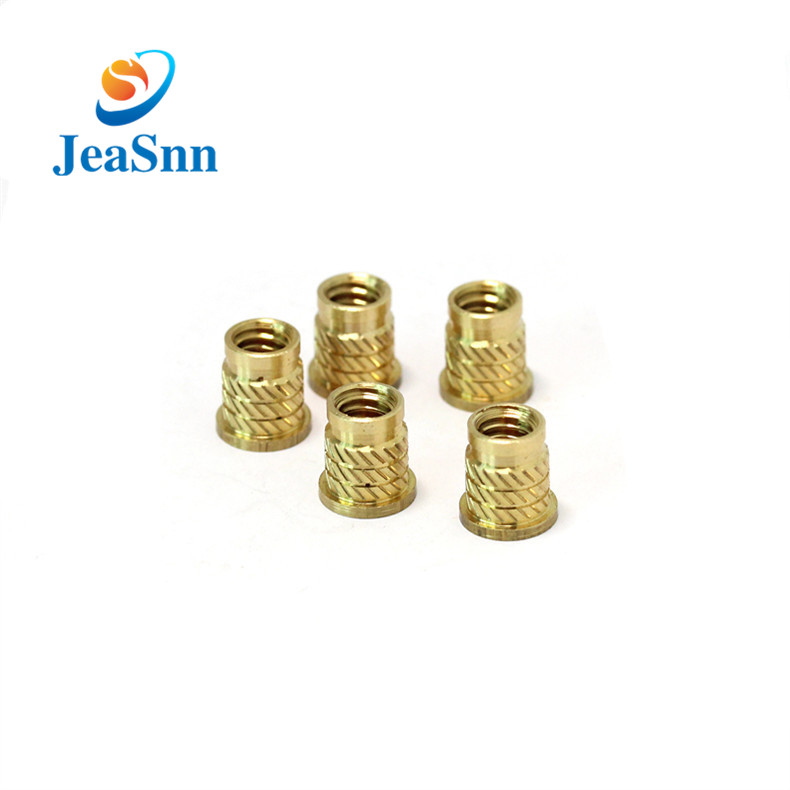 Cnc Turning Brass Threaded Insert Nut