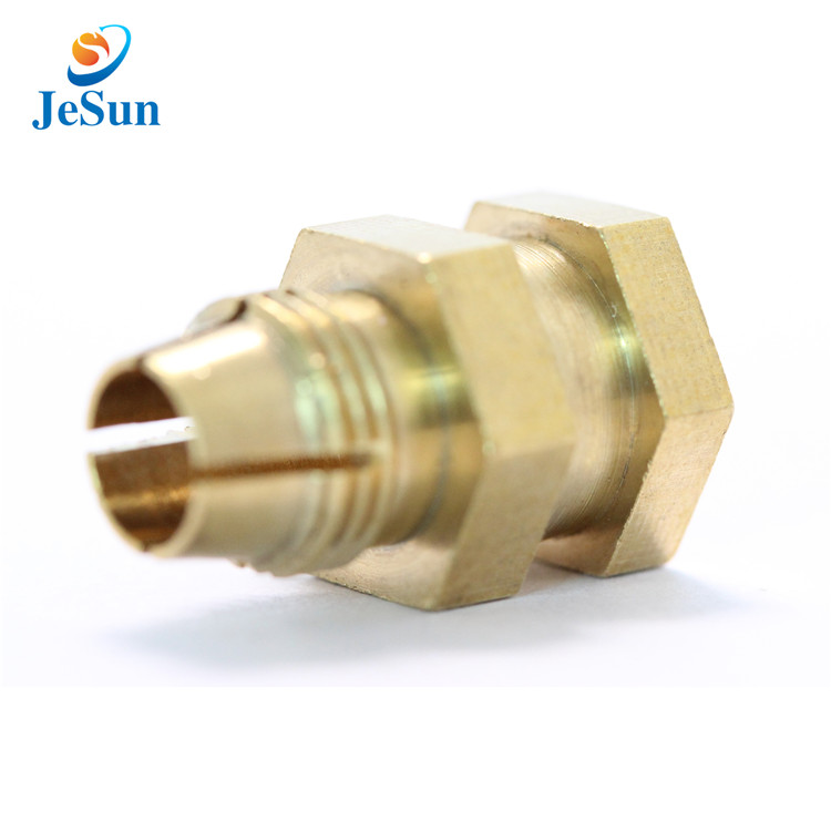 CNC BRASS LATHE TURNING PARTS DESCRIPTION in Jakarta
