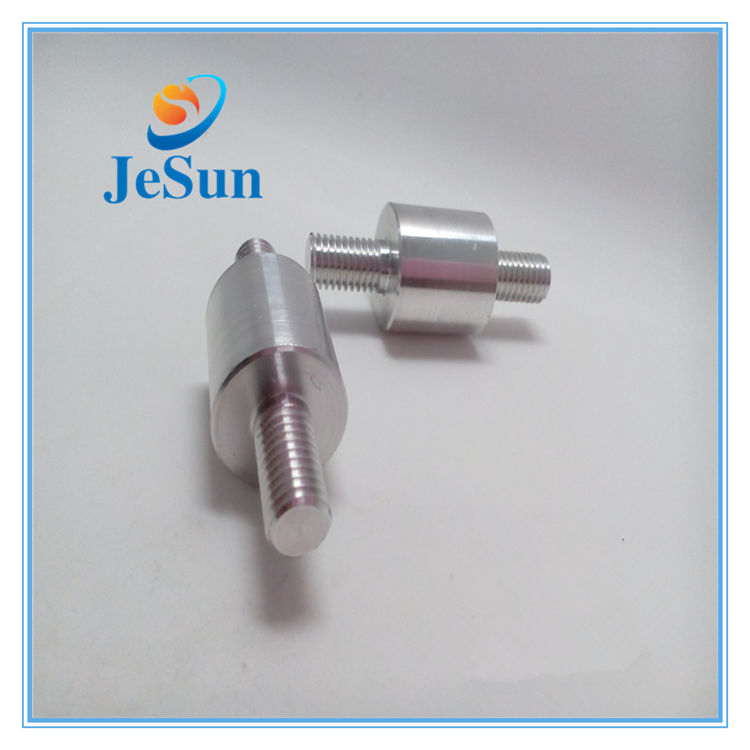 Welder Precision Aluminium Machined Parts En Turning Part En Double Thread Screw