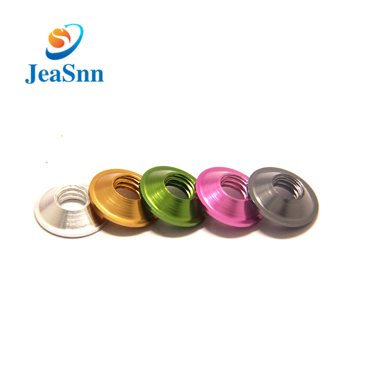 Kleur Anodized Aluminium Flat Washers for Fishing Rod