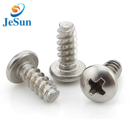 Cross recessed pan head screws in Swiss