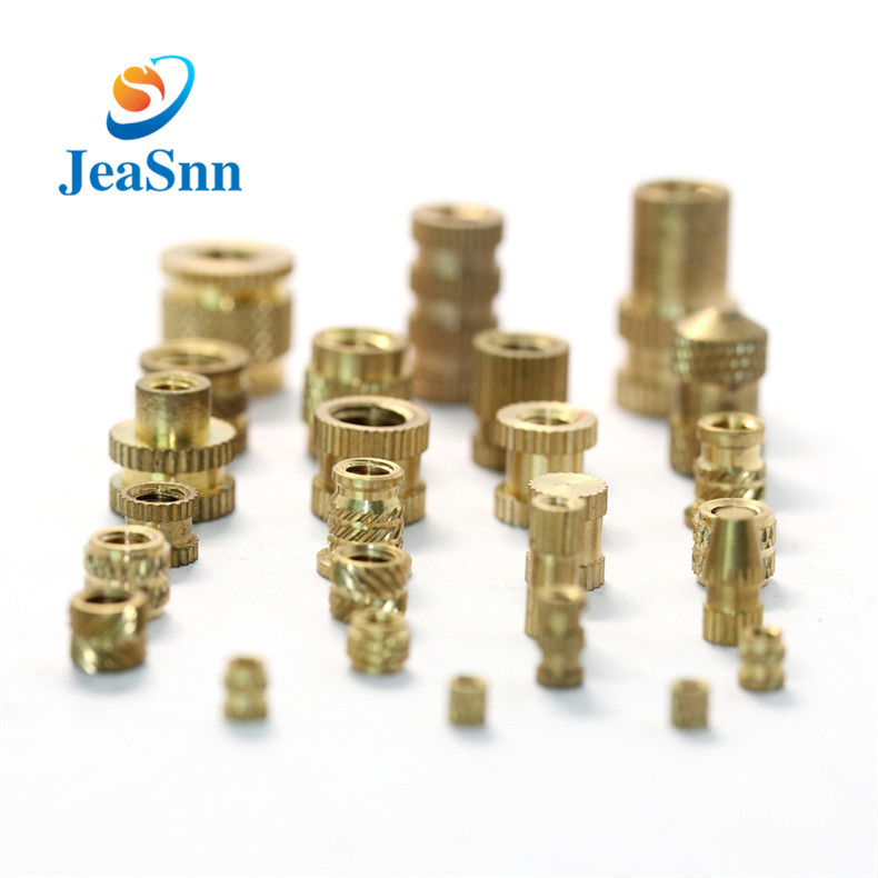 Brass Molding Knurled Insert Nuts,Brass Threaded Insert Nuts