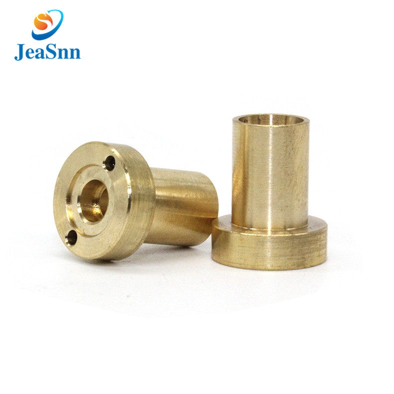 Custom round brass bushing for Infrared thermometer