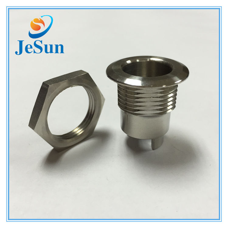 Custom Made Stainless Steel Machined CNC Precision Milling Turning Parts in Benin