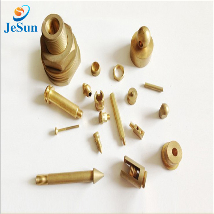 Customize CNC Processing Brass Parts in Guyana