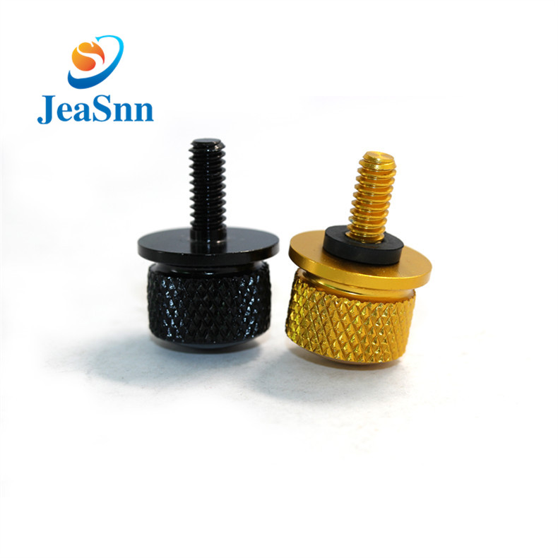 Customized Aluminium Screw M3 Knurled Head Thumb Screw