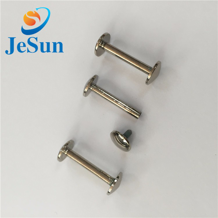 Customized stainless steel chicago screws in Lisbon