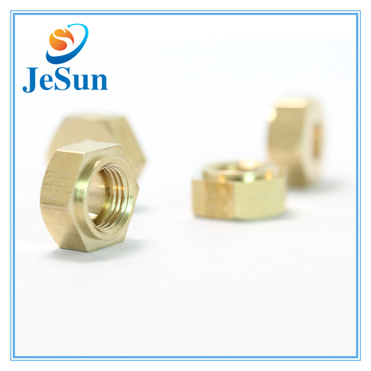 DIN934 Brass Nut Hexagon Nut M10 in Jakarta