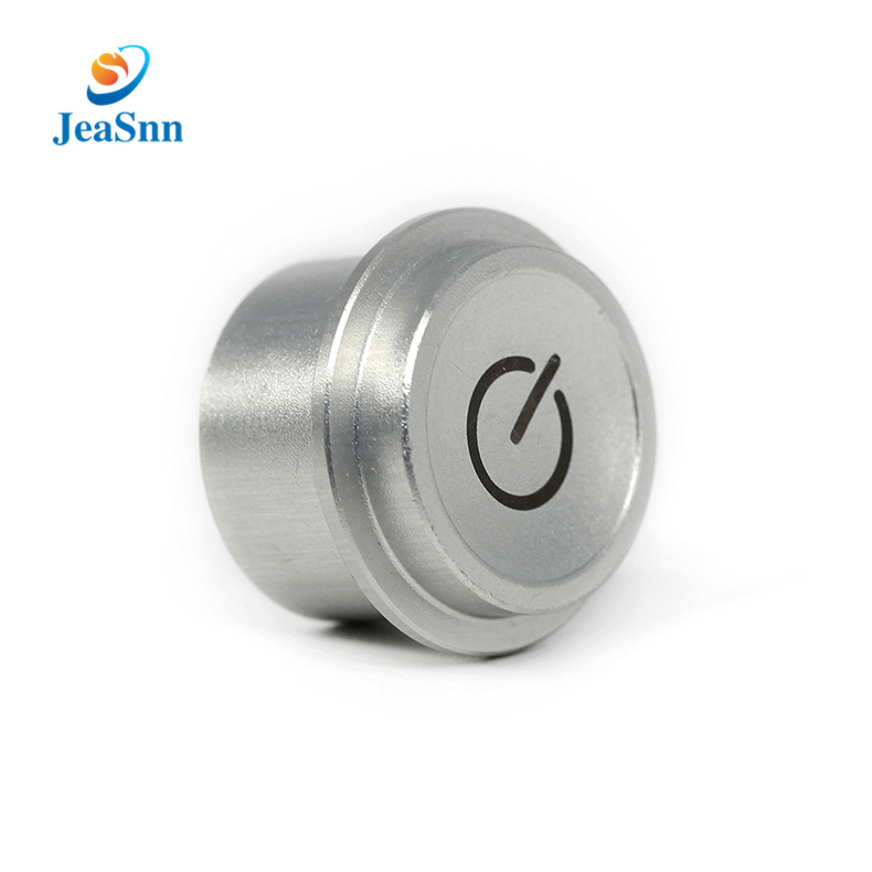 Electric Elevator Button Switch Sandblasting Aluminum Parts