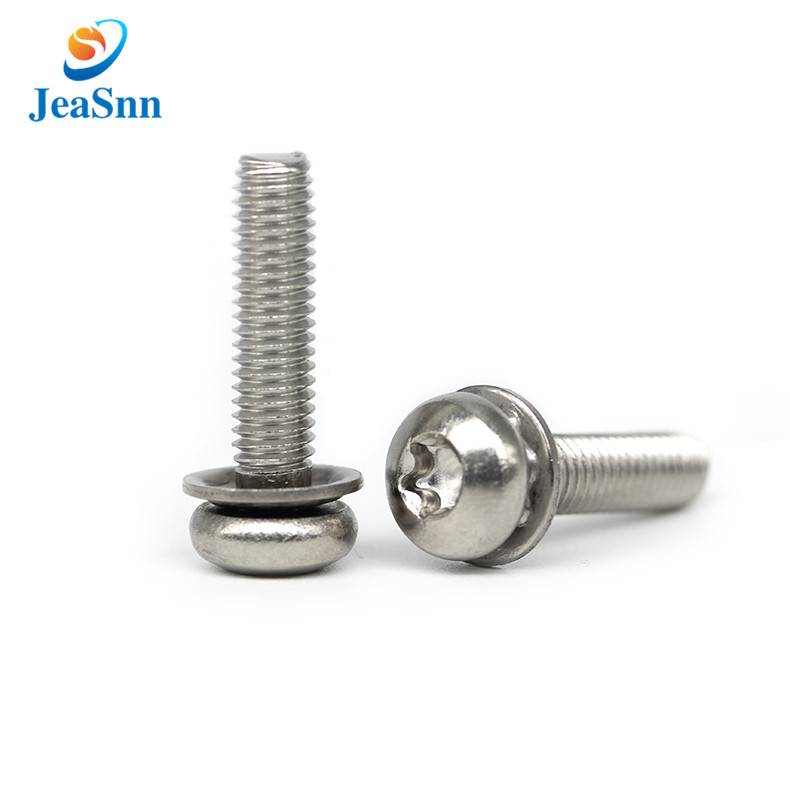 Electrical Stainless Steel Round Head Torx Screw with Washers