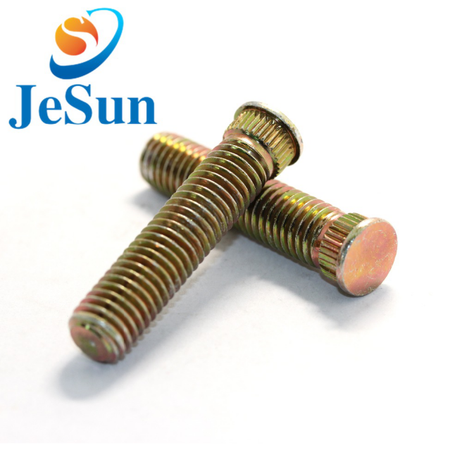 Factory Supply OEM Threaded Long copper screws in Swiss