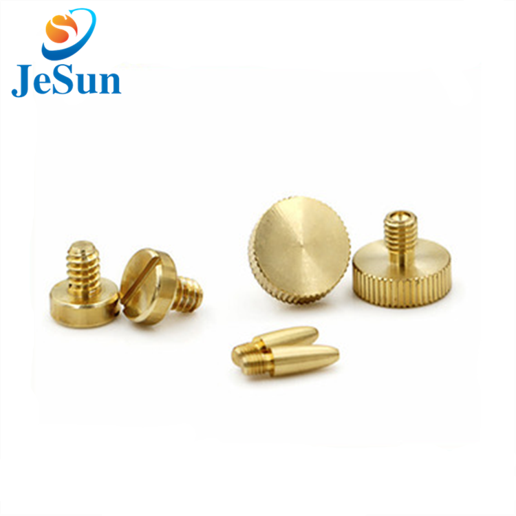 Good quality hot sale brass thumb screw in Swiss