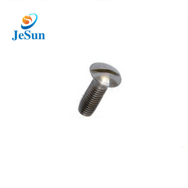 Good quality slotted mushroom head screws in Greece