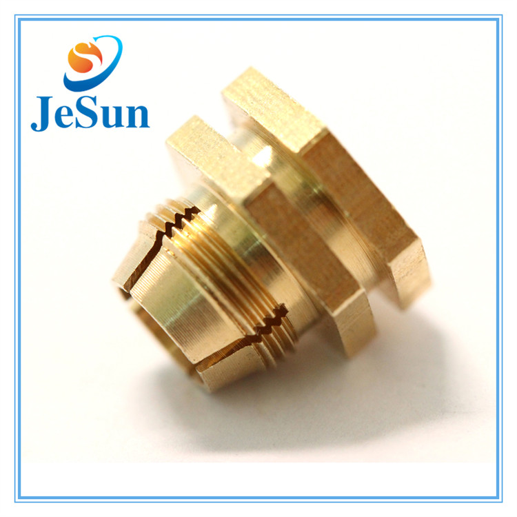 High precision oem customized special brass screws in Jakarta