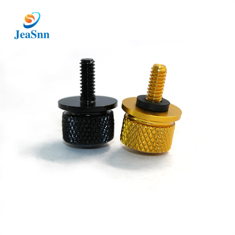 High Quality Aluminum Alloy CNC Anodizing Precision Thumb Screws