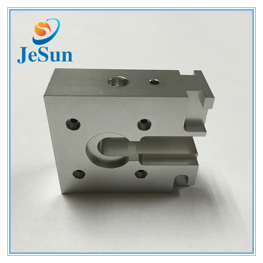 High precision cnc aluminum spare parts 3D printer parts in Peru
