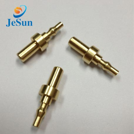 High precition cnc machining brass parts in Peru