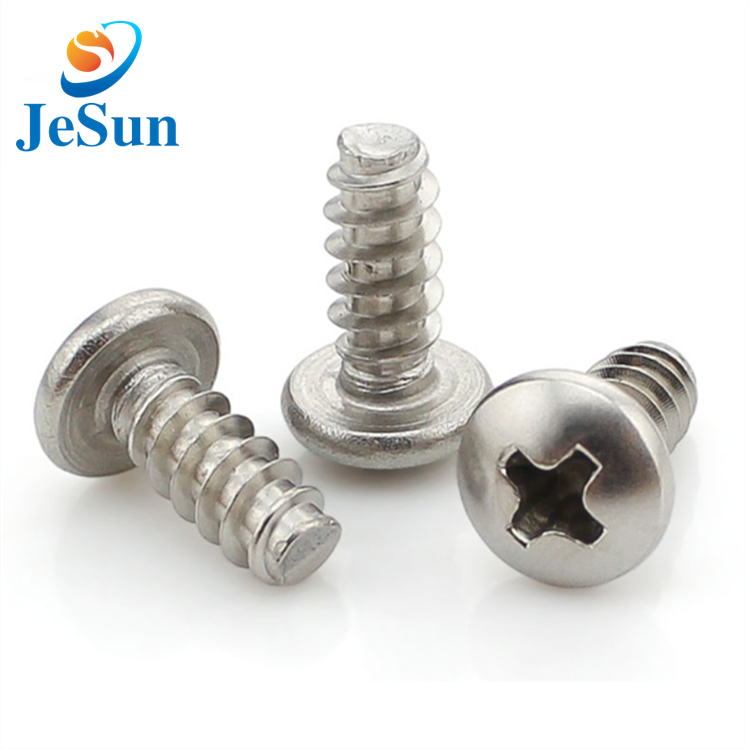 High quality stainless steel cross head screw in Sweden