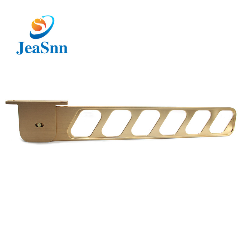 Horizontal Type  wall mount cloth hanger brass hanger for clothes