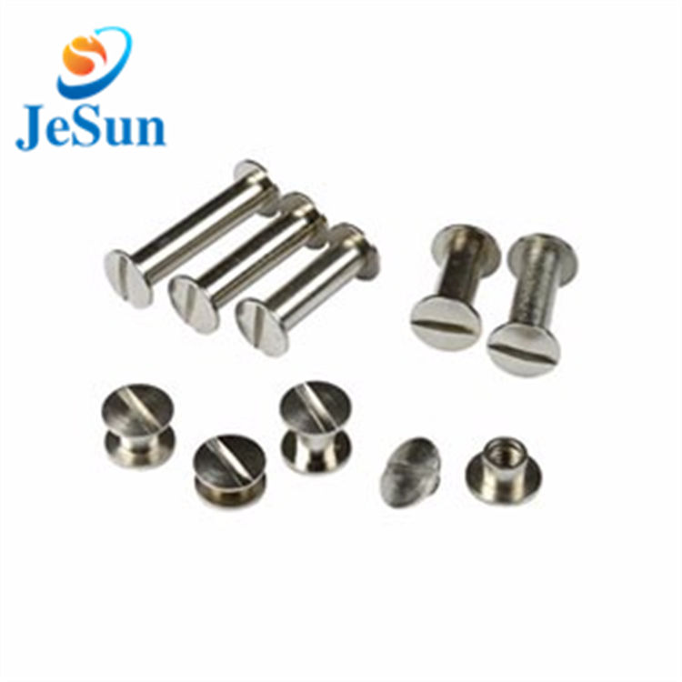 Hot sale male and female book binding screws in Macedonia