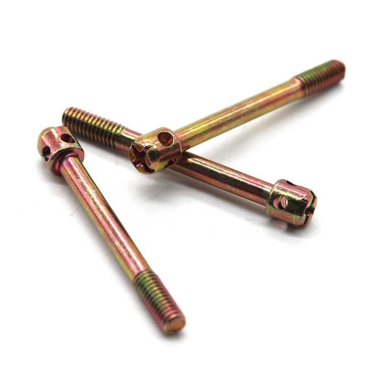 M3 M4 M5 M6 color zinc plated terminalscrew closure lead meter screw electric meter sealing hole bolts phillips sealing fasteners brass sealing screws