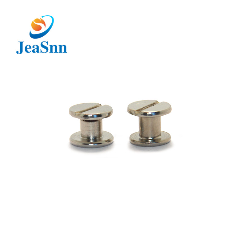 Male and female screw post binding in USA
