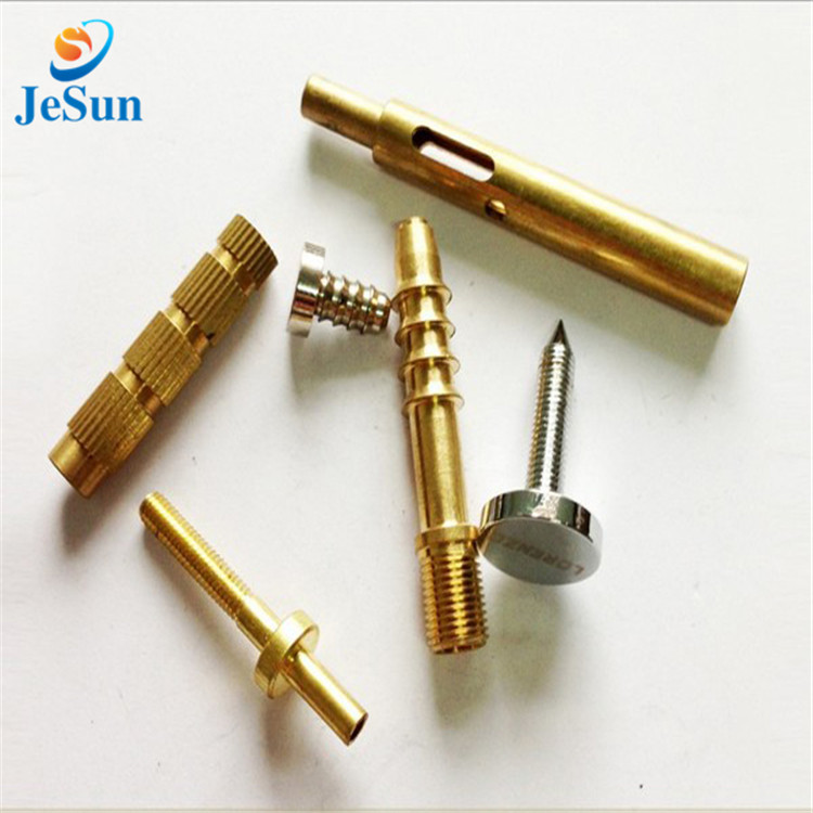 Mass production brass cnc parts in Dubai