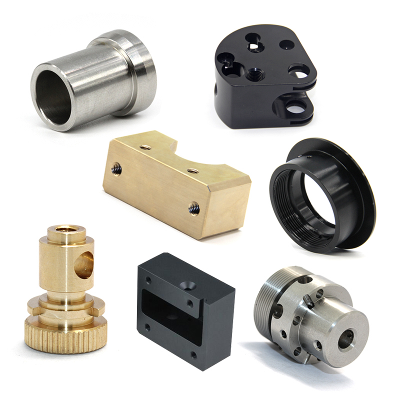 Metal parts fabrication custom made cnc manufacturing turned machining small metal parts in USA