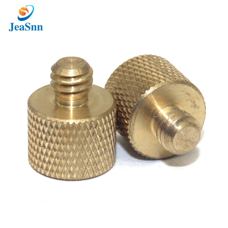 OEM hardware 3mm 6mm computer brass knurled thumb screws in USA