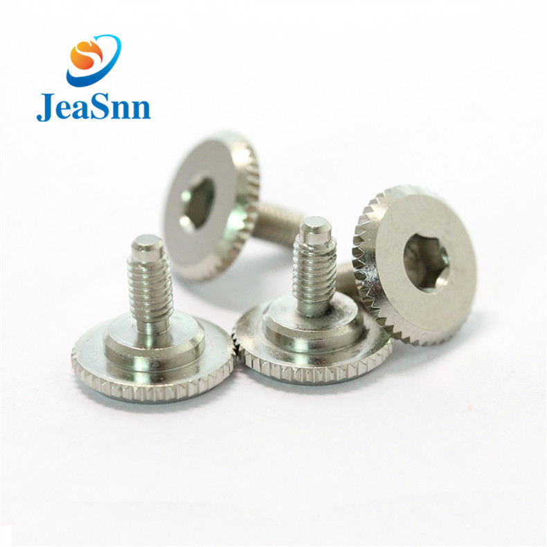 OEM Knurled Thumb Screw for Electrical Equipment Parts