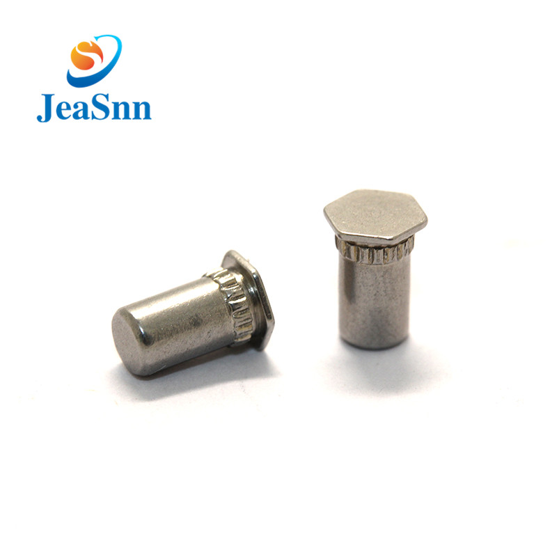 OEM ODM Chrome Hex Head Blind Rivets for Pcb