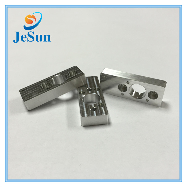 OEM metal cnc machined aluminum parts cnc milling  parts in Lima
