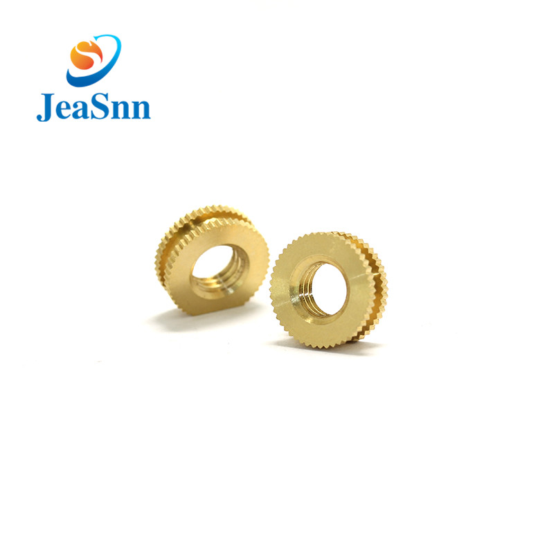 Plastic M8 Brass Threaded Insert Nut