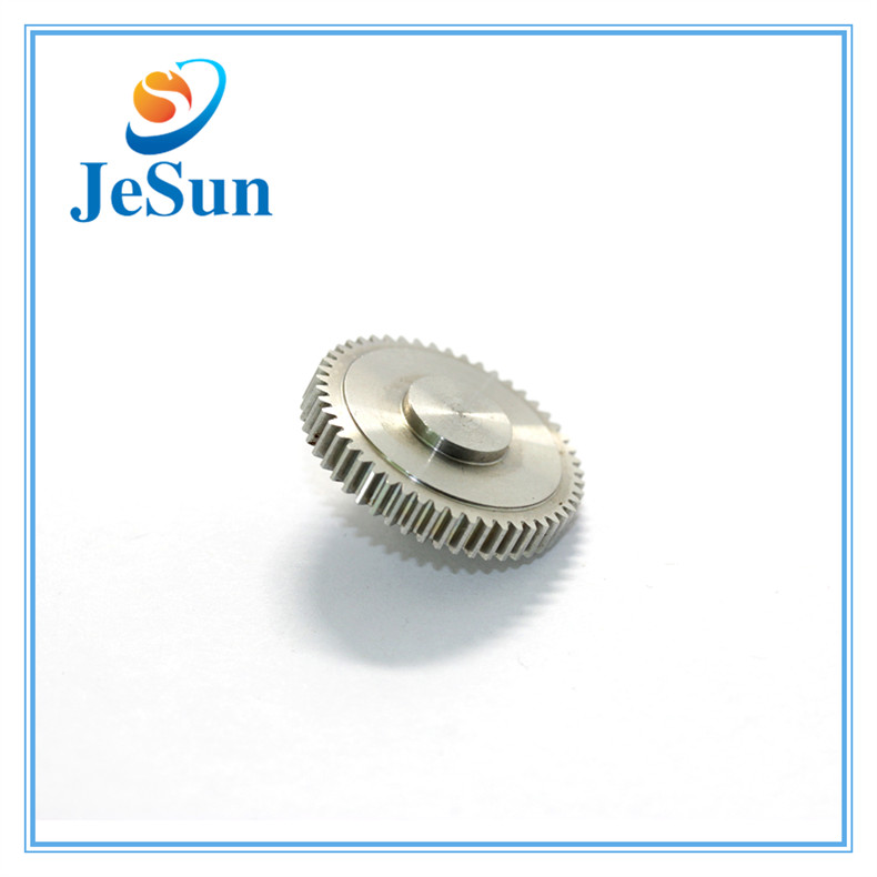 Precision Machined Stainless Steel Gears in Bangalore