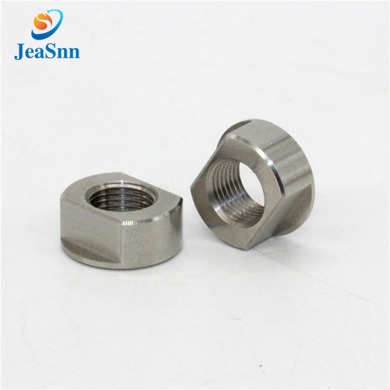 Turned stainless steel SUS303 custom nuts for CNC router