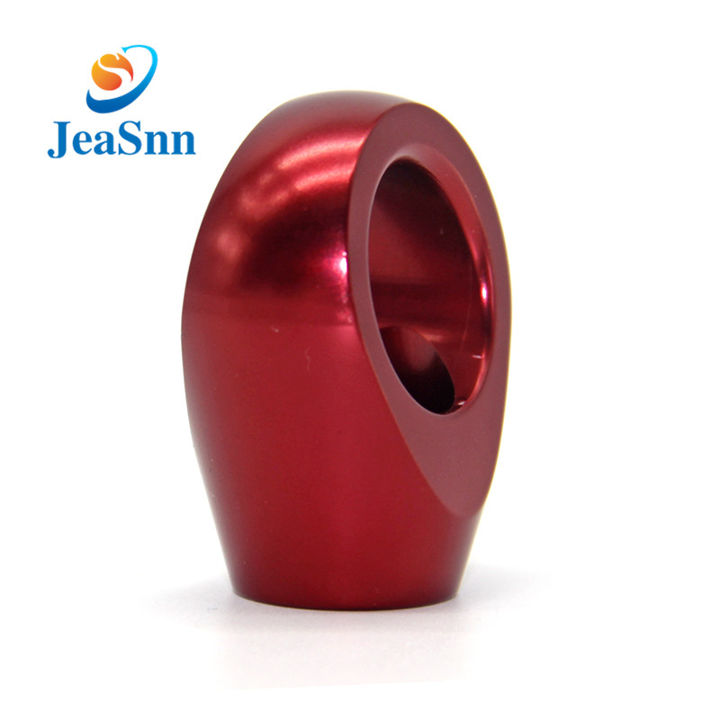 Red Anodized Machined Sliver Mini Cnc Aluminum Parts in USA