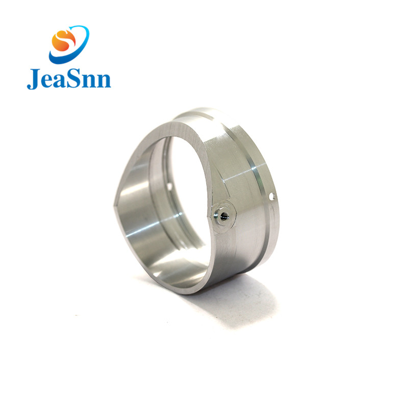 Round Aluminum Cnc Machining Part Lathe Part