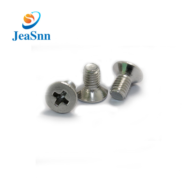 Stainless Steel Cross Head Screws Phillips Head Screws