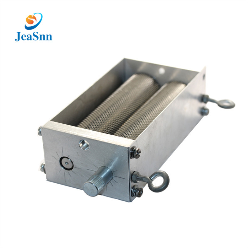 Stainless steel Grain Mill 2 Rollers for Home brew Grain roller mill  Barley Crusher