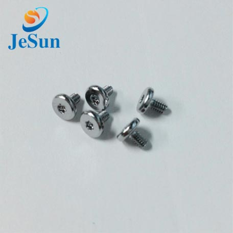 Stainless steel button head torx screw and security screws in Swiss