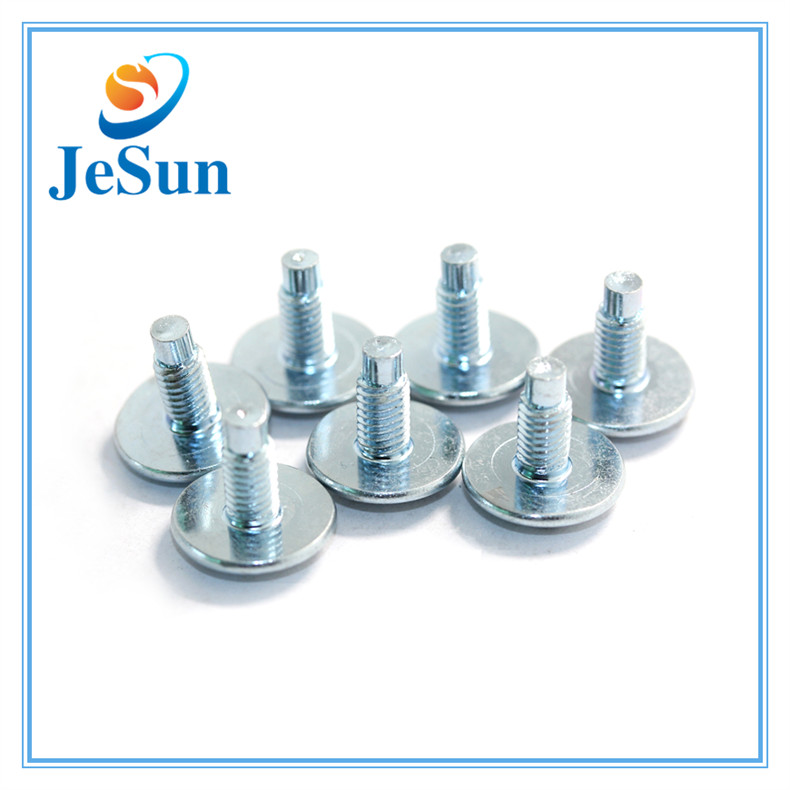 Steel Blue Zinc Plating Slot Screws