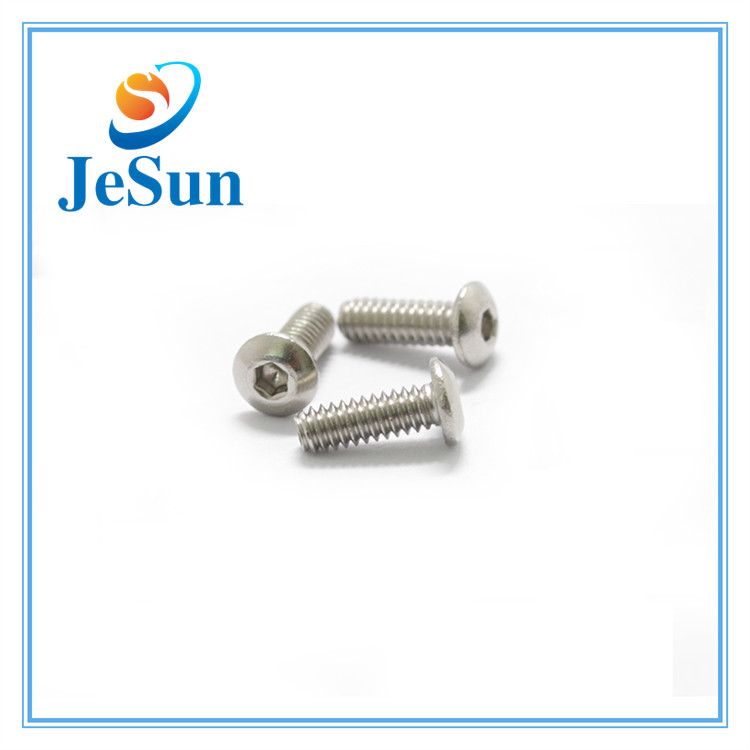 Stock Machine Screws Hexagon Socket Head pan Screws in Swiss
